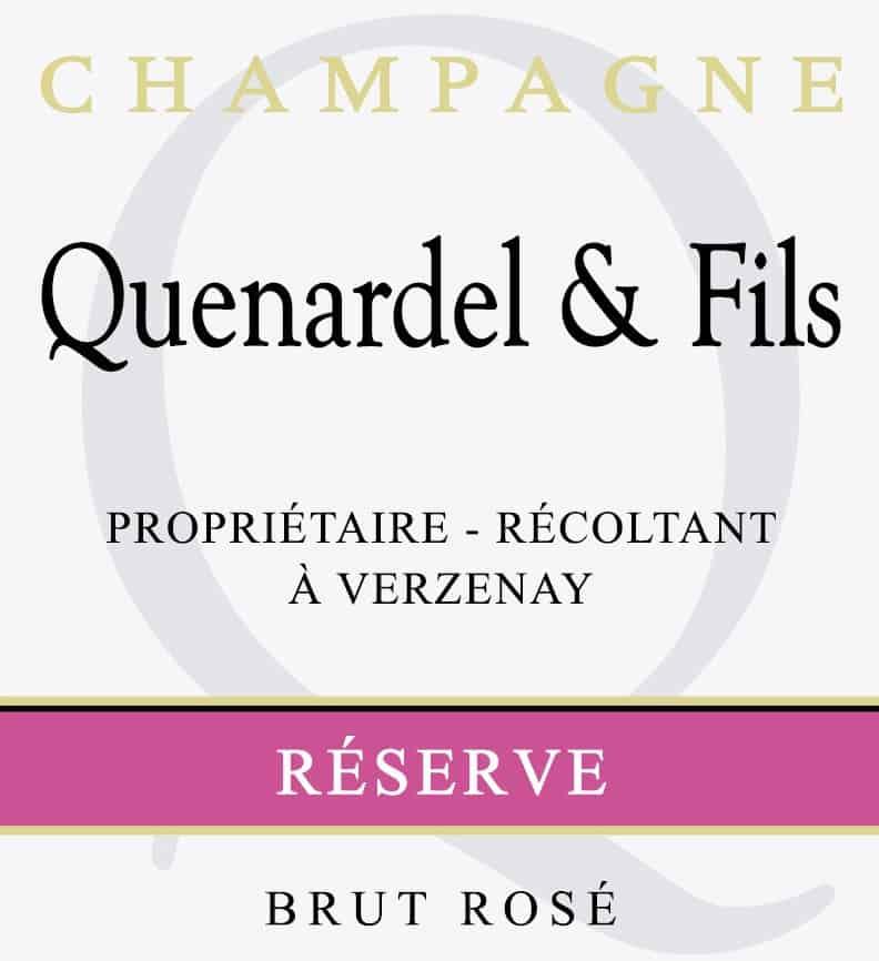 QUEN rose label