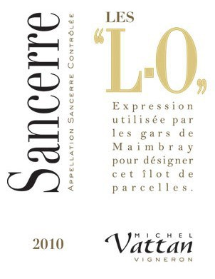 White-Sancerre-AOC-cuvee-L-O label