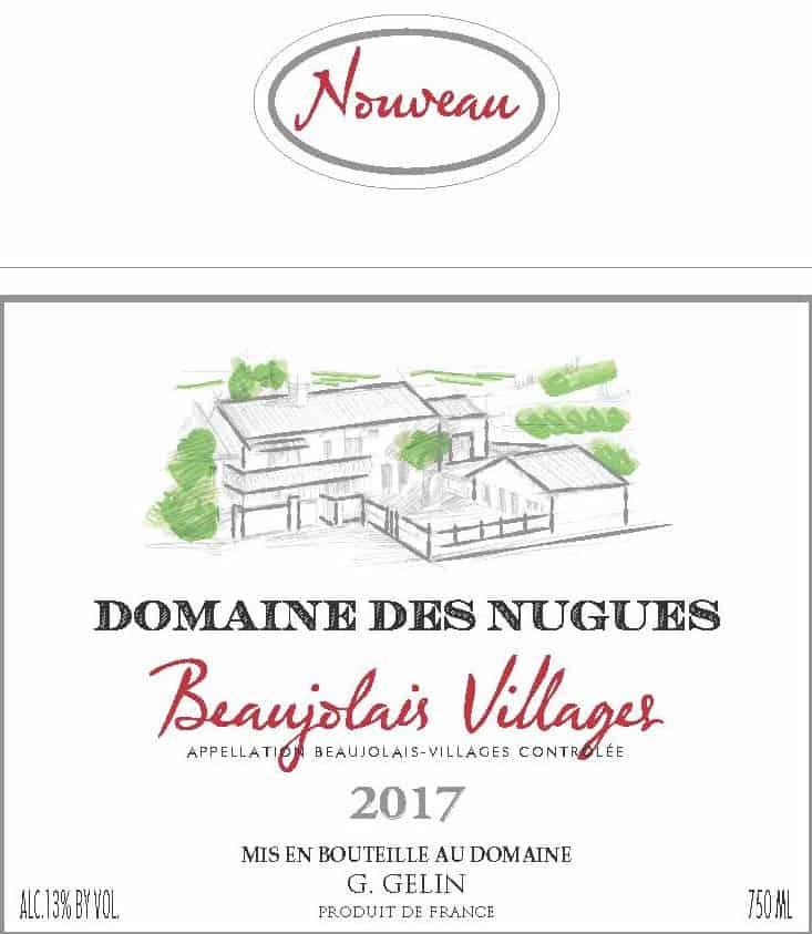 Beaujolais Nouveau Villages 2017