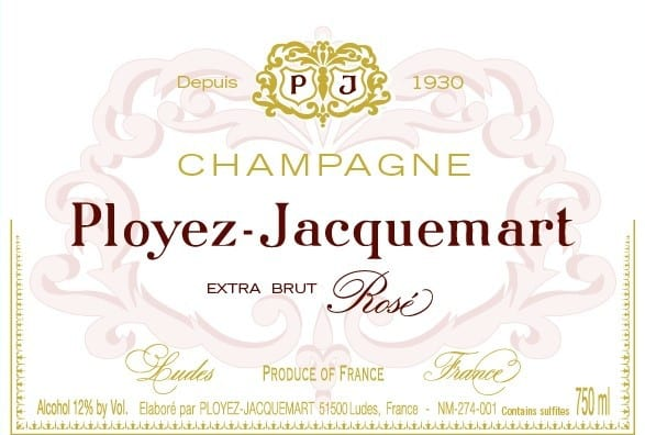 EXTRA BRUT ROSE LAbel
