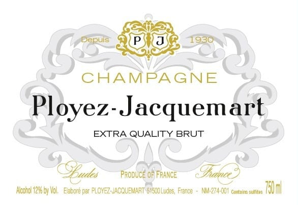 EXTRA QUALITY BRUT label