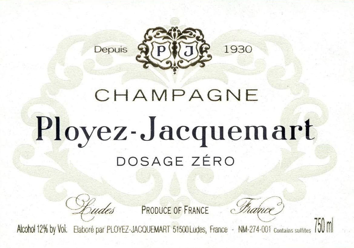 L DB WINE DOSAGE ZERO