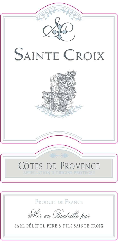 Label Chateau St Croix