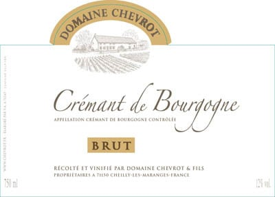 Label Chevrot Cremant de Bourgogne