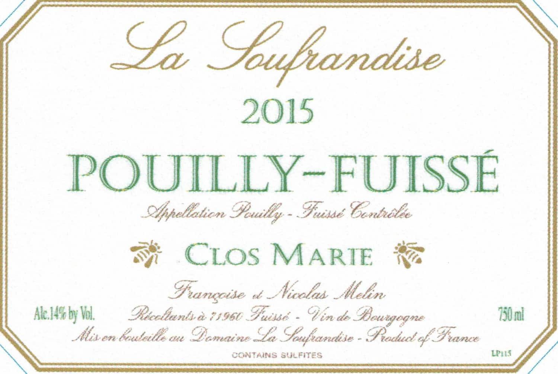 Label Dom La Soufrandise Pouilly Fuisse Clos Marie NMil_Page_2