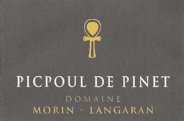 Label Domaine Morin Langaran Picpoul de Pinet BL