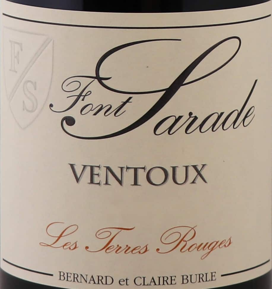 VENTOUX TERRES ROUGES labels