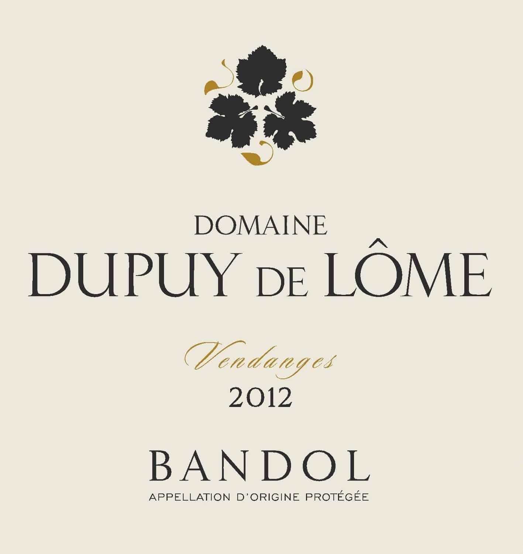Dupuy de Lome Bandol Rose