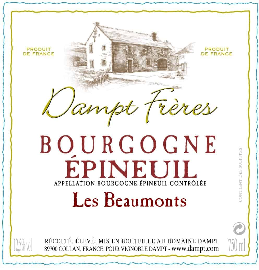 Bourgogne Epineuil Les Beaumonts grally used