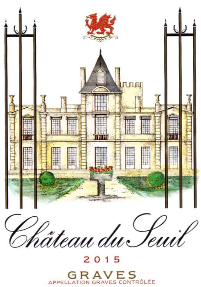 New Label Chateau du Seuil graves red 2015