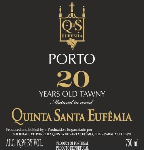 Label 20 Years Tawny