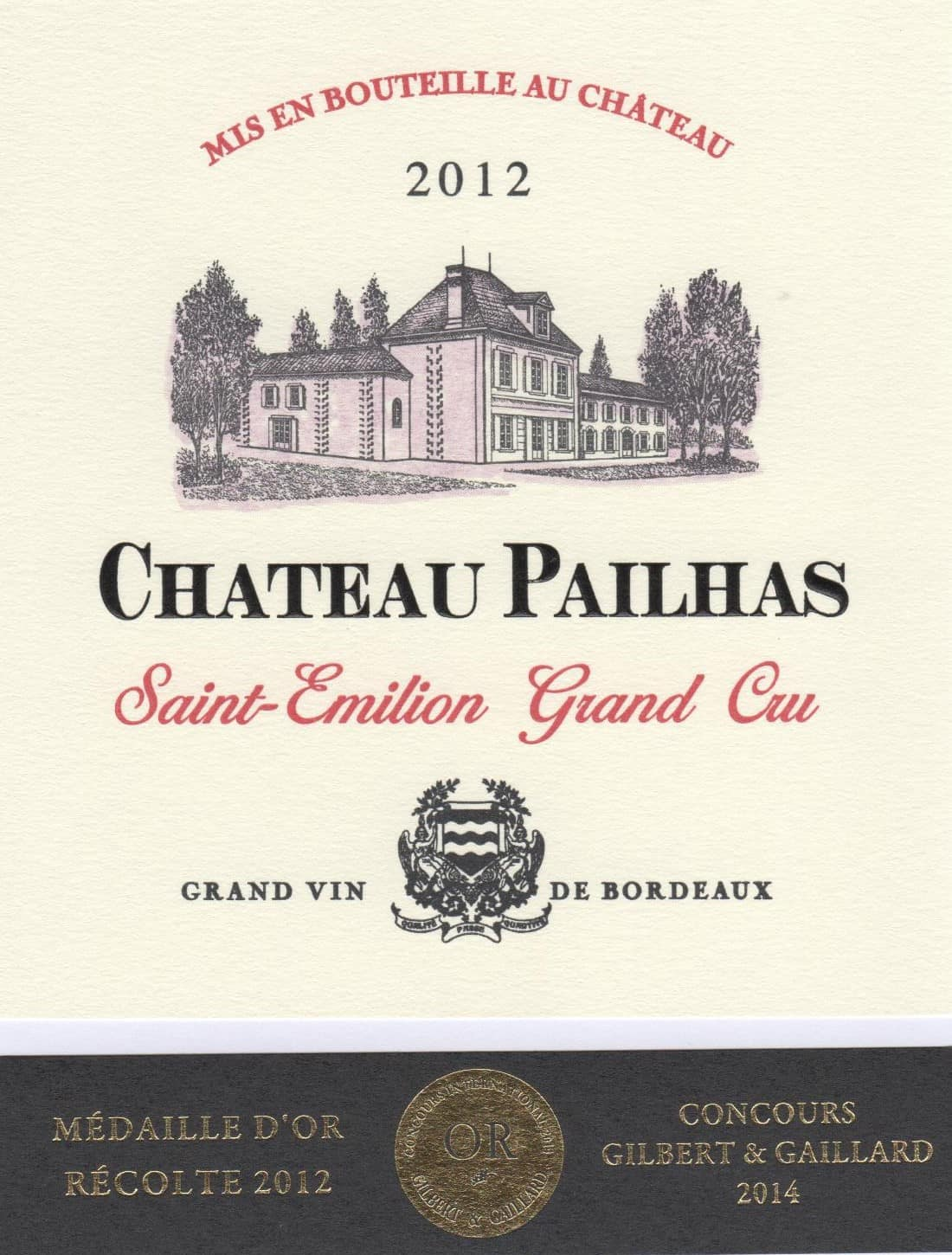 Label Chateau pailhas (002)