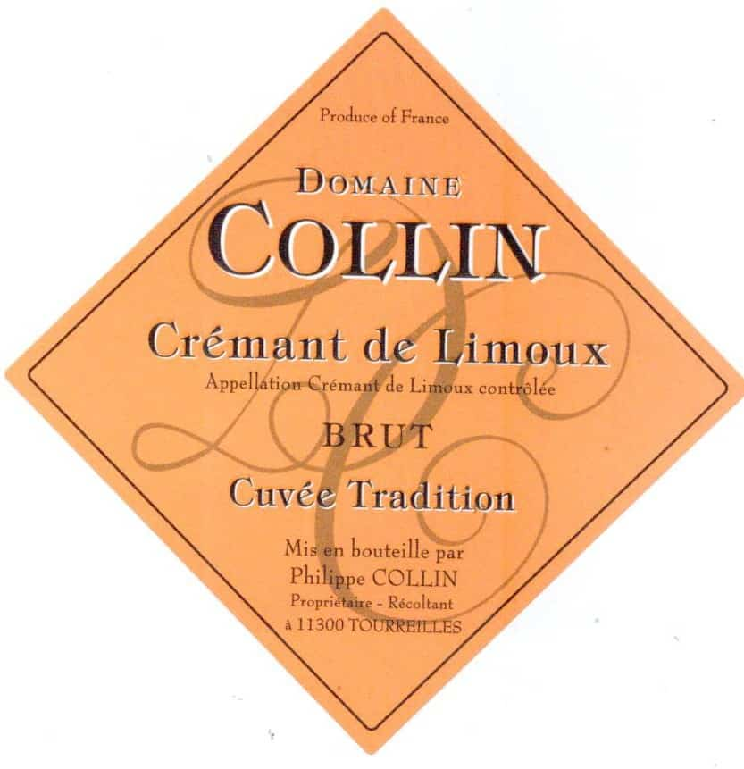 Label Dom Collin tradition Brut