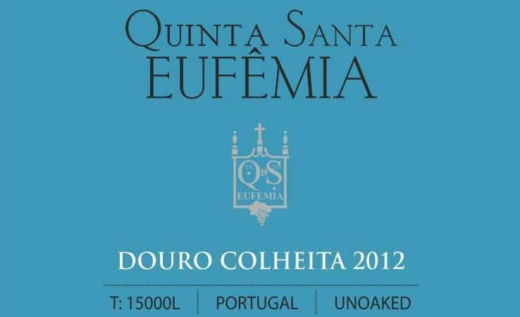 Label only Sta Eufemia Douro Red 2012