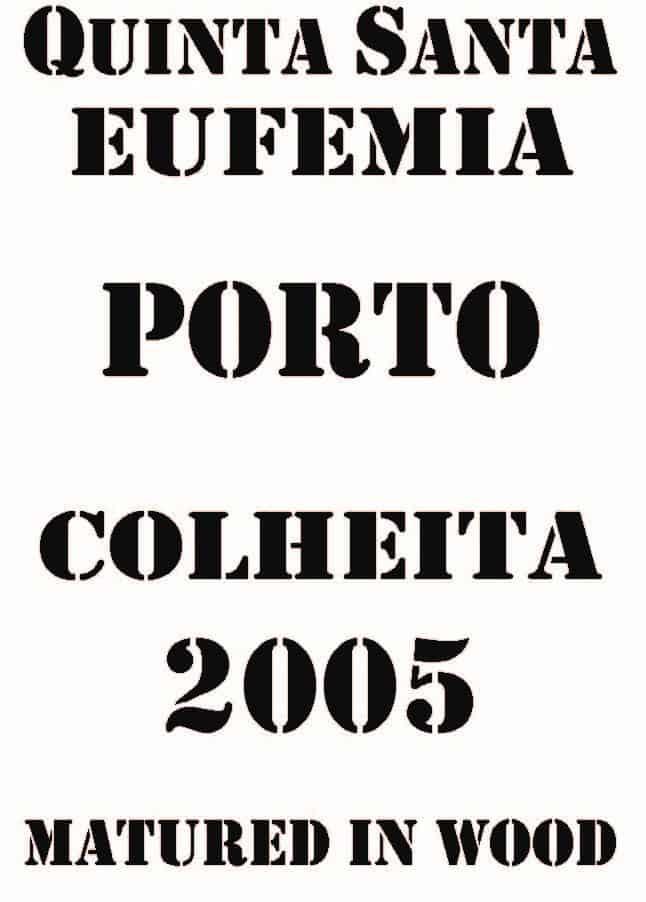 Label Sta Eufemia Colheita 2005