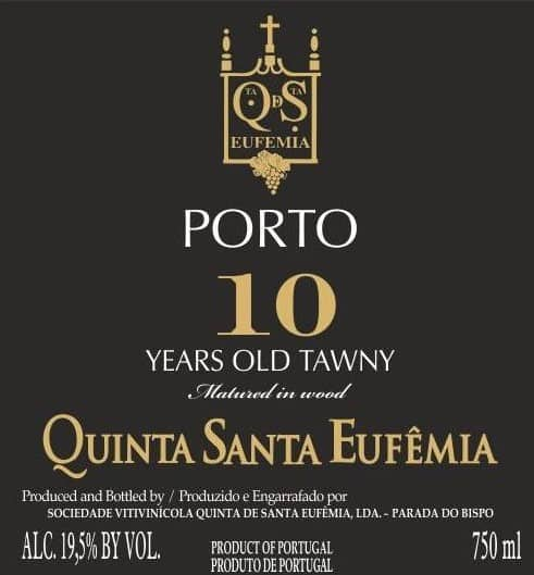 Label10 Years Tawny