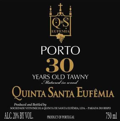 Quinta Santa Eufemia 30 Years Tawny