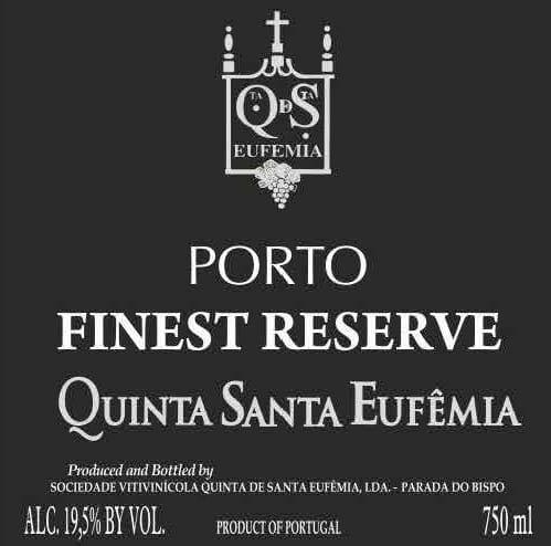 Quinta Santa Eufemia Finest Reserve