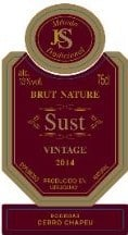 Sust Vintage 2014 label