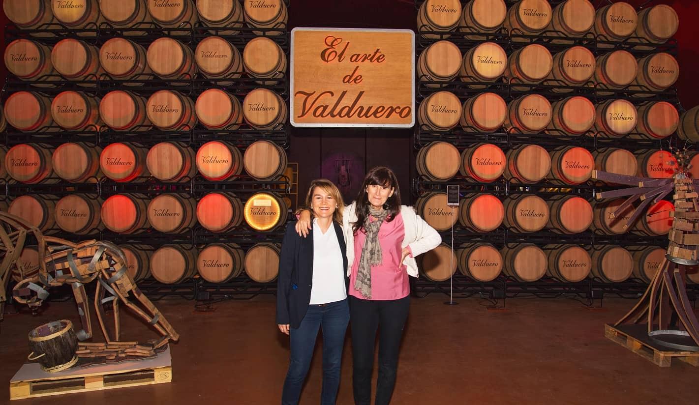 Yolanda y Carolina García Viadero Bodegas Valduero