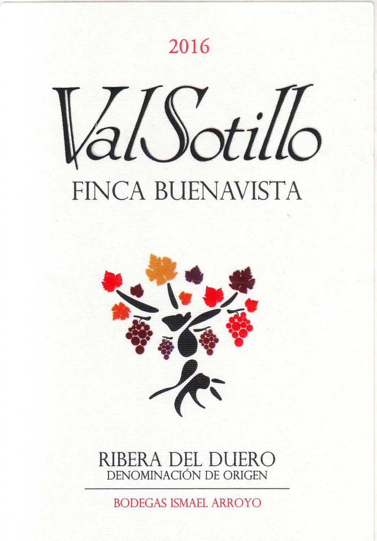 VALSOTILLO Finca Buenavista 2016 front