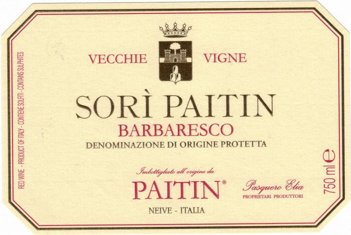 Sori Paitin Barbaresco VV